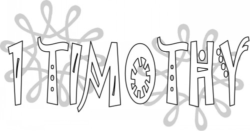 Coloring Pages 2 Timothy