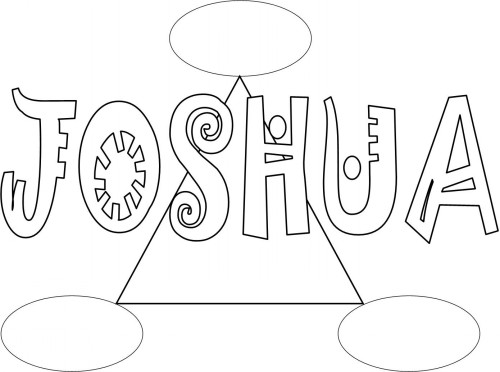 Bible Coloring Pages For Kids Free Printable Books Of The Bible Joshua Coloring Pages